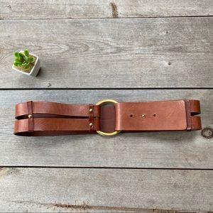 Bananas Republic Brown Leather Belt